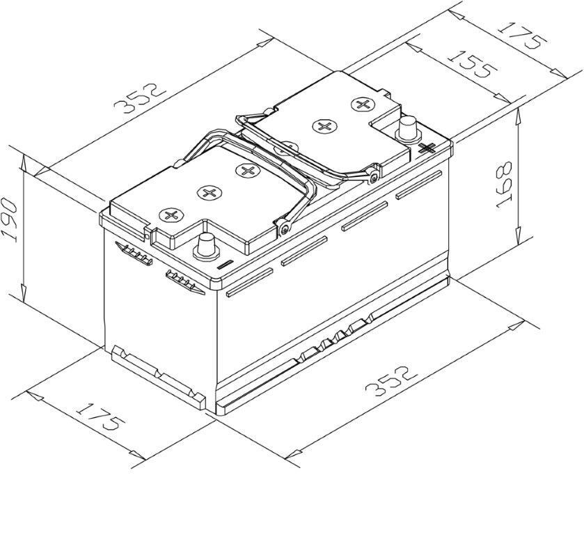 wet cell battery diagram